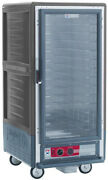 Metro C537-mfc-4-gy 3/4 Height Moisture Heater Proofer W/fixed Wireandclear Door