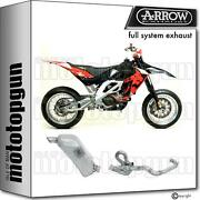 Arrow Racing Nocat Full System Exhaust Full Titanium Aprilia Sx-v 4.5 07/14