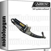 Arrow Racing Nocat Full System Exhaust Extreme Carbon Honda X8r-x 50 98/01