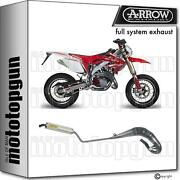 Arrow Racing Nocat Full System Exhaust Round Aluminium Honda Crm 125 89/98