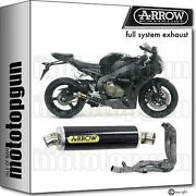 Arrow Hom Nocat Full System Exhaust Indy-race Carbon Honda Cbr 1000 Rr 08/11