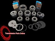 Vw Transporter T5 2.5td 6 Spd 0a5 Late Gearbox Bearing And Oil Seal Rebuild Kit
