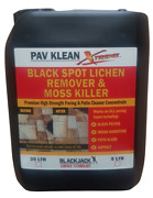 Black Spot Remover Patio Cleaner 15 Scented Hypochlorite All Paving Types