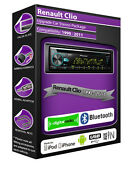 Renault Clio Dab Radio, Pioneer Car Stereo Cd Usb Aux In Player, Bluetooth Kit