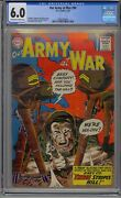 Our Army At War 90 Cgc 6.0 Joe Kubert Cover And Art Dc