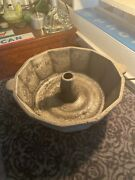 Rare Antique 1940s 12 Sided Bundt Pan Made By Archer Creek Foundry Make Offer