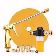 Copper High Pressure Power Washer Water Gun With Hose And Soap Attachment