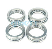 I/d 100mm To 190mm Axial Ball Thrust Bearing Set2 Steel Races + 1 Cage Abec-1