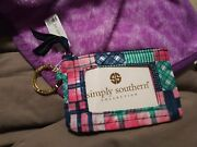 Nwt Simply Southern Keychain Id Case Holder / Wallet