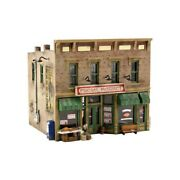 Woodland Scenics Pf5200 N-scale Kit Fresh Market, Classic Store, Easy To Build