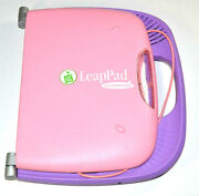 Leap Frog Leappad Plus Microphone Electronic Learning System Console Pink Purple