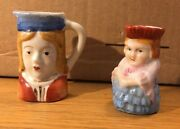Toby Mugs Made In Occupied Japan