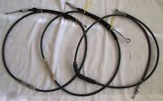 Lot Of 3 1992 Harley-davidson Softail Custom Motorcycle Clutch Cables