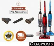Quantum X Upright Water Vacuum Cleaner - No Filters Reduces Germs Wet/dry Vac