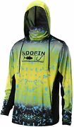 Performance Fishing Hoodie With Face Mask Upf50 Sunblock Shirt Hooded Long Sleev