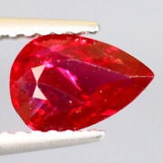 1.027 Ct Ruby Certified Pigeon Blood Unheated Mozambique Natural Top Lustre