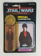Star Wars Vintage 1983 Imperial Dignitary Figurine Rotj - Carded