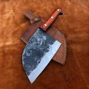 High Carbon Chrome Steel Camping Outdoor Kitchen Cleaver