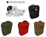New Elite First Aid Molle Soldiers Tactical Medical Ifak Trauma Kit - Medic Red