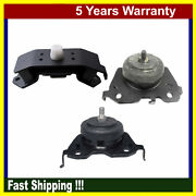 Engine Motor And Auto Trans Mount For Toyota Sequoia Tundra 4.6l 5.7l 4wd Set 3pcs