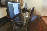 Sneeze Guard Commercial Package Clear Acrylic Computer Keyboard Shield Desk