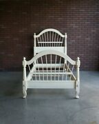 Twin Bed Frame Cottage Bed Country French Wheatback Bed By Ethan Allen