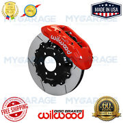 Wilwood 140-13865-r Red Performance Gt Front Brake Kit For 2010-2020 Ford F-150