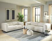 Coaster Fine Furniture Maggie Power Sofa And Loveseat Living Room Set