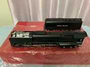 Key Imports Brass Up 4-8-4 Fef-3 8444 Steam Locomotive And Tender Cs59