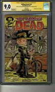 Walking Dead 103 Variant - Cgc 9.0 White Pg Ss3x Kirkman Giarrusso And Rathburn