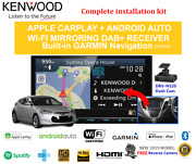 Kenwood Dnx9190dabs For Hyundai Veloster 2012-2017 Amp - Stereo Upgrade