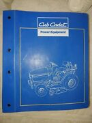 Cub Cadet 7000 Series Compact Tractor Parts And Attachments Manual Form 772-4206