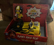 Ryanand039s World Ryans Race Rod Car Figure And Vehicle New Nip Discontinued