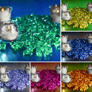 800 Crystal Like Mini Ice Cubes Wedding Party Centerpieces Vases Filler