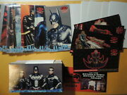 Batman And Robin Widevision Base Set Storyboard Profiles Posters Kenner Playset