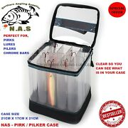 Torus New Pirk Caddy / Carry Box Clear Perfect For Your Lures,pirks,pilks,cod