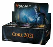 Magic Core Set 2021 M21 Draft Booster Box Mtg New Factory Sealed - In Hand