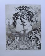Charles Bragg - Seven Deadly Sins Suite - 8 Signed And Numbered Etchings
