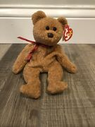 Ty Beanie Baby Origiinal Curly- Extremely Surface Stamp Best Rare Errors