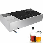 Maple Syrup Evaporator Pan Boiling Pan 304 Stainless Steel Square Pan 48x24