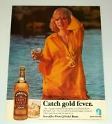 1976 Print Ad Serralles Don Q Gold Rum Vintage 70and039s Advertisement