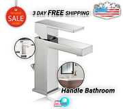 Delta Faucet Modern Singlehandle Bathroom Faucet With Drain Assembly Chrome