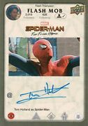 Marvel Spider-man Far From Home Tom Holland Spider-man Autograph Card Fm-th