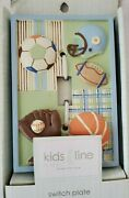 New Kidsline Home Field Sports Light Switch Plate Cover