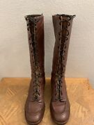 Vtg Depression Era Victorian Boots Granny Smith 1920and039s Lace Up Boots Womenandrsquos 7