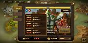 Summoners War Place 28th In World Boss - 206 Lvl40 Mons - Europe