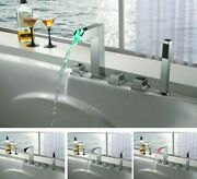 Wall Mounted Contemporary Bathroom Faucets Ceramic Valve Core Chromes Faucet New