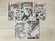 Action Comics 1 - 5 Rags Morales 1200 Sketch Variants The New 52