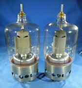 2 Rca Electron Tube 4e27a 5-125b Date Matched Free And Fast Shipping