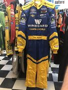 John Andretti Winegard Busch Series Nascar Nomex Race Used Drivers Firesuit